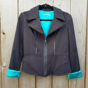 T. Tahari Black Cropped Blazer - Size 10